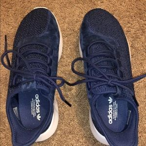 Adidas women's size 7.5 suede sneakers
